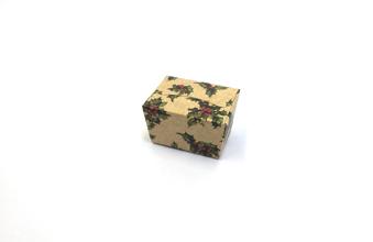 Kraft Holly 100g sized Ballotin - Gift Carton Ideal for the festive season