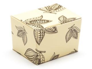Cream Cocoa Pod 1 Choc sized Ballotin - Gift Carton Ideal for all occasions