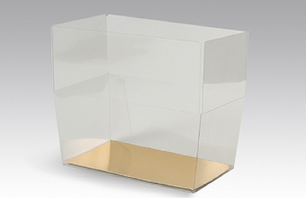 Clear 250g sized Transparent Ballotin - Gift Carton Ideal for all occasions