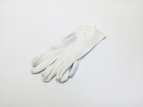 White Ladies sized Cotton Inspection Gloves (1 pair) - Low Lint Glove Ideal for all occasions