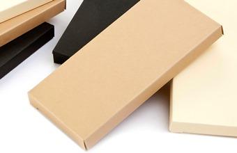 Light Caramel Premium Choc Bar Carton - Shallow Gift Carton Ideal for all occasions