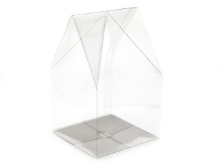 Clear Large Easter Egg sized - Easter Gift Carton Ideal for Easter occasions