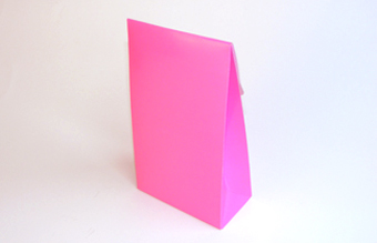 Pink Large sized A-Frame Carton - Gift Carton Ideal for Spring-Summer occasions