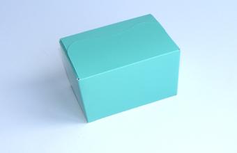 Aqua 125g sized Ballotin - Gift Carton Ideal for Spring-Summer occasions