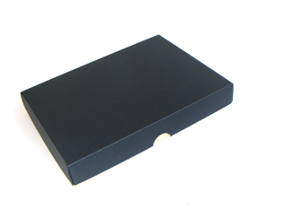 Black 24 Choc sized Wibalin Lid - Fold-up Gift Box Lid Ideal for all occasions